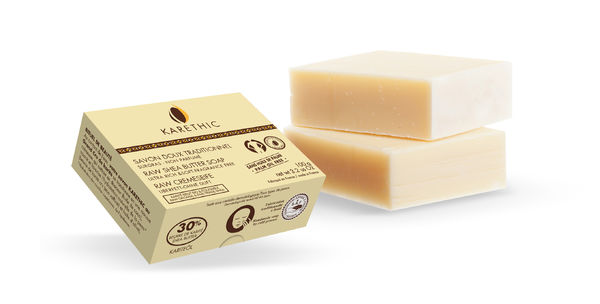 Ultra Rich Soft Raw Shea Butter Soap –karitevoisaippua Vegan
