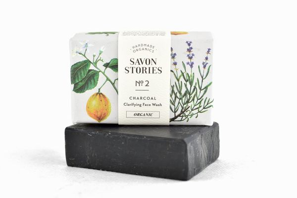 Kivihiilisaippua Bamboo Charcoal Bar Soap  110 g