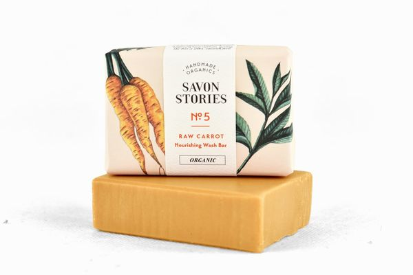 Porkkanasaippua Raw Carrot Bar Soap 110 g
